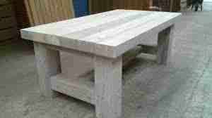 steigerhout salontafel maken