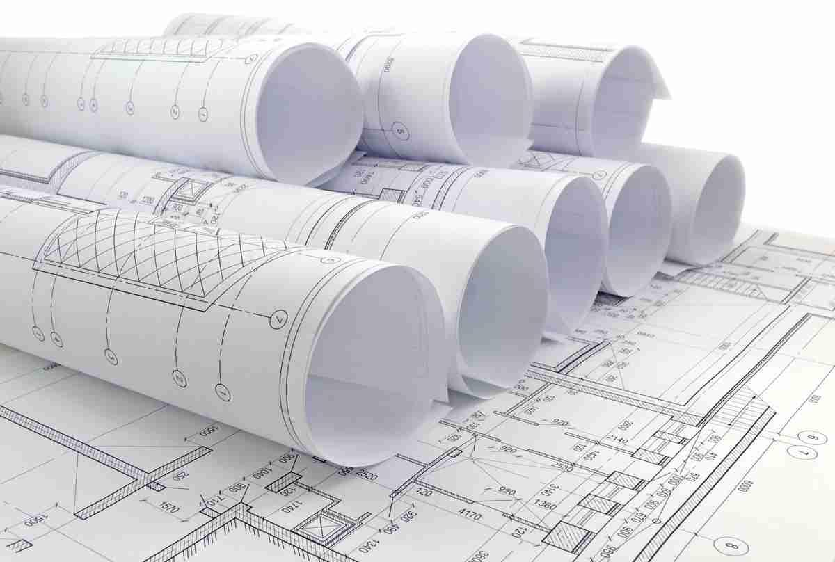 Klussen met bouwtekeningen